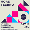 affiche Less Drama More Techno #18