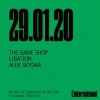 affiche The Game Shop / Libation / Alex Skydaa