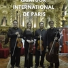 affiche QUATUOR INTERNATIONAL DE PARIS