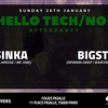 affiche Hello Tech/No! - Afterparty with Catsinka x Bigstate (6h/12h)