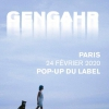 affiche The Talent Boutique x Le Pop-Up du Label présentent : Gengahr + guest
