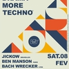 affiche LESS DRAMA MORE TECHNO #19