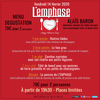 affiche L'EMPHASE Saint Valentin Menu Dégustation + Spectacle