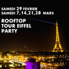 affiche ROOFTOP TOUR EIFFEL PARTY (GRATUIT avec INVITATION à TELECHARGER)