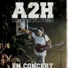 affiche A2H & THE PLAYERZ + JOSUE + KITSUNE KENDRA
