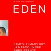 affiche EDEN - NO FUTURE TOUR