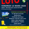affiche Loto du Football Club Moret/Veneux