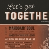 affiche LET'S GET TOGETHER - MAHOGANY SOUL - FROM STEVIE WONDER TO NU SOUL