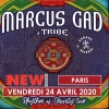 affiche MARCUS GAD & TRIBE + KANAGA RECORDS