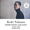 affiche CONCERT KOKI NAKANO - PRE-CHOREOGRAPHED