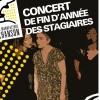 CONCERT DE FIN D'ANNÉE DES STAGIAIRES FACI