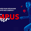 affiche EM Normandie Campus Tour - Paris