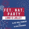 affiche Fêt. Nat. Party