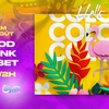 affiche Hello Color - Pool Party & Club - Lagoon Paris