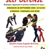 affiche Stage self defense