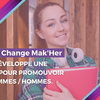 affiche Startup For Teens - Change Mak'her