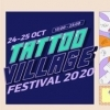 affiche TATTOO VILLAGE FESTIVAL 2020