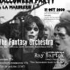 affiche Halloween Party avec Fantasy Orchestra
