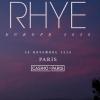 RHYE +1ere partie