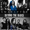 affiche AMARANTHE + BEYOND THE BLACK