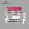 affiche Merry christmas in jazz | Wonderful Gershwin