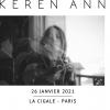 KEREN ANN + 1ERE PARTIE