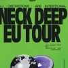 affiche NECK DEEP + INVITES