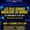 MANDRAKES D'OR - LES PLUS GRANDS MAGICIENS DU MONDE