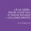Michel Cloup Duo et Pascal Bouaziz x Les Lignes Droites