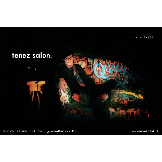 Salon de l 39 irr el du futur paris galerie d 39 art infos for Salon de l informatique paris