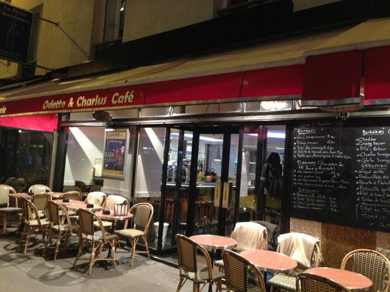 Odette Et Charlus Cafe Paris
