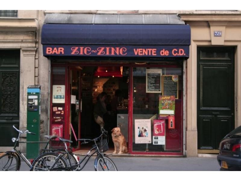 le zic zinc paris bar infos et adresse le parisien. Black Bedroom Furniture Sets. Home Design Ideas